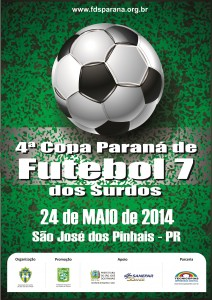 4a Copa Paraná de Futebol Sete dos Surdos 2014 - TR