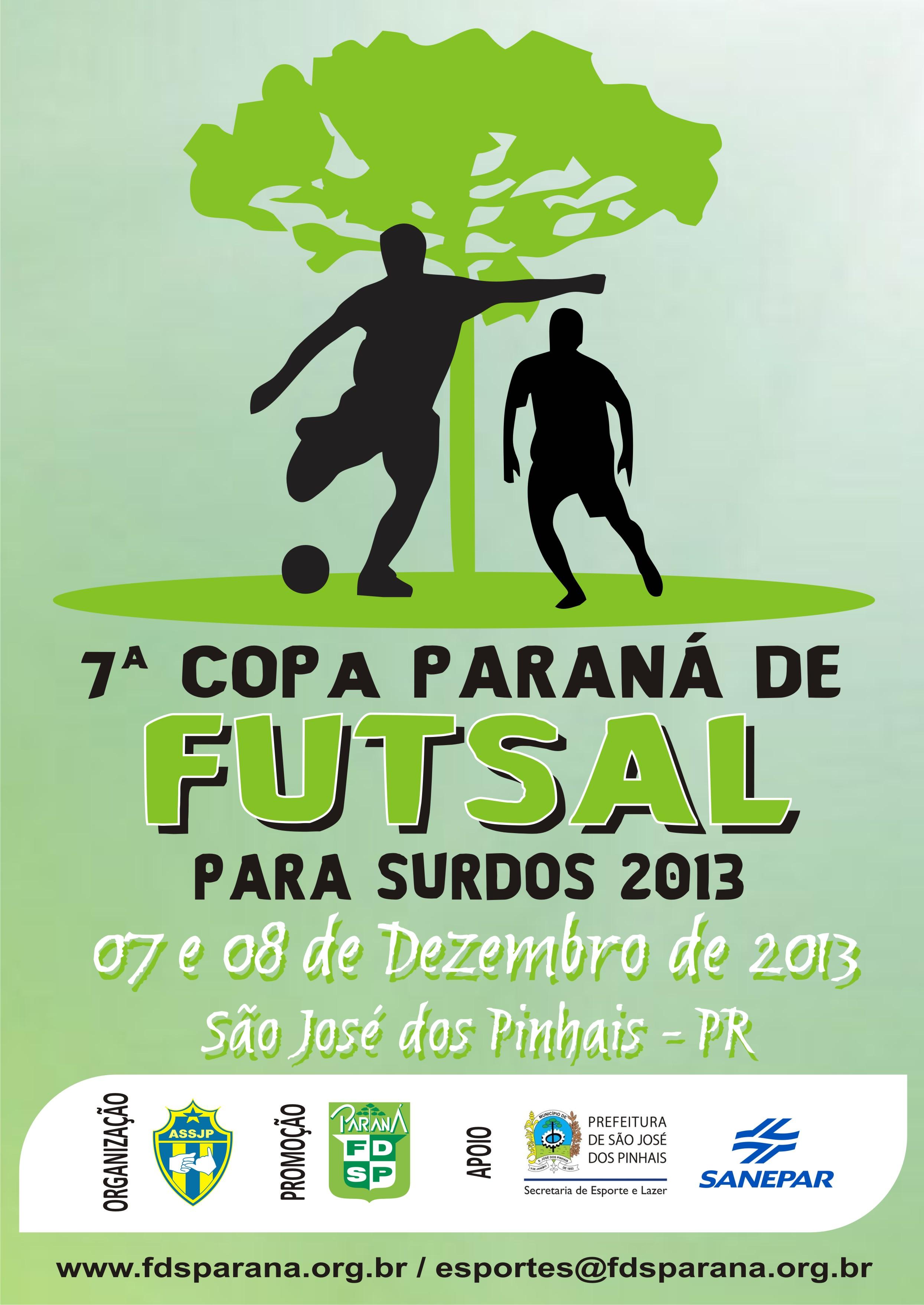 7a Copa Paraná de Futsal 2013 - Final