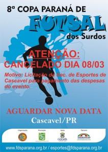 8a Copa Paraná de Futsal 2014 - X16 CANCELAR