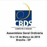 AGO CBDS - março Brasilia