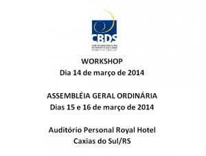 AGO.workshop março2014
