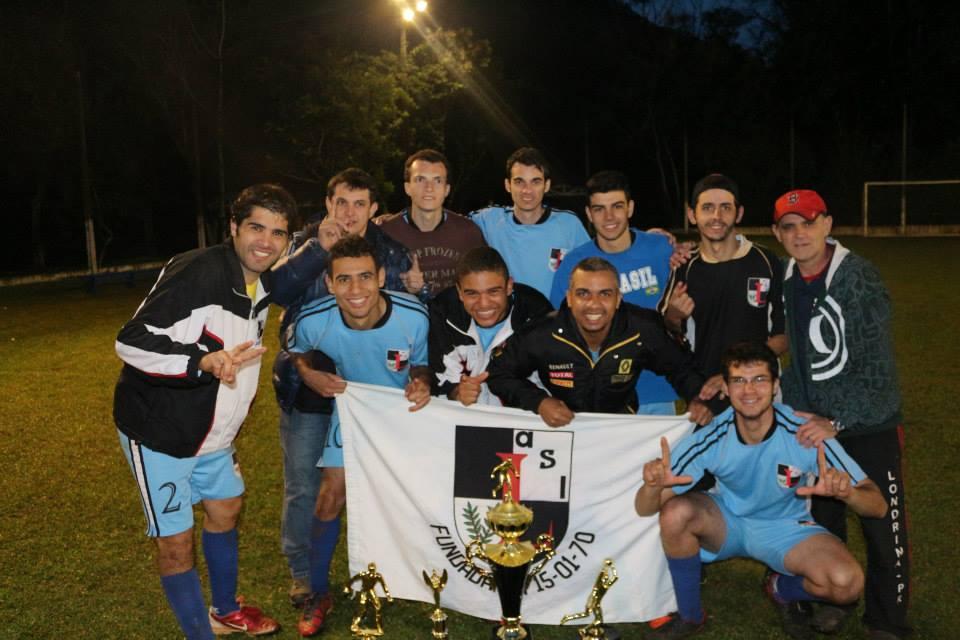 ASL campeão de futebol sete 2013