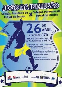 Amistoso de Futsal em Belém 2014