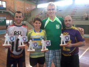 Atletas em destaque na Copa Sul de Futsal 2014
