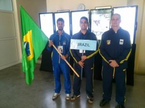 Brasileiros no Mundial de Badminton 2015 - Desfile