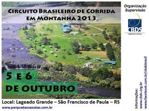 Circuito Brasileiro de Corrida em Montanha 2013