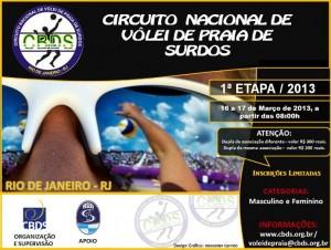 Circuito Nacional de VP 1 etapa - Rio de Janeiro