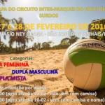 FDSP 1º Etapa do Circuito Inter Parques de Volei de Praia 2016 SURDOS-a