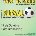 Futsal 3etapa e VP 3etapa