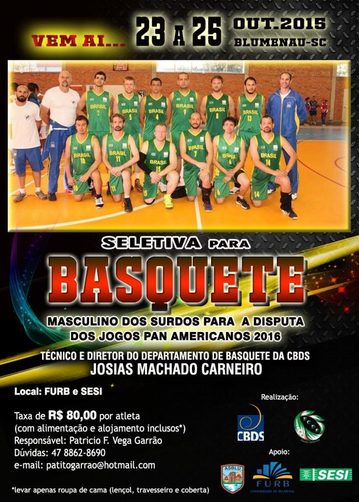 Seletiva de Basquete out.2015