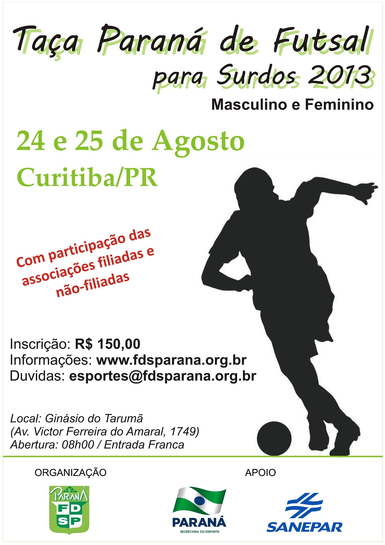 Taça PR Futsal 2013