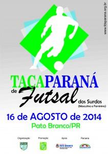 Taça Paraná de Futsal para Surdos 2014