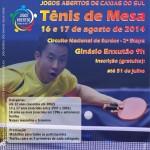 Tenis de mesa 2014 - CXS