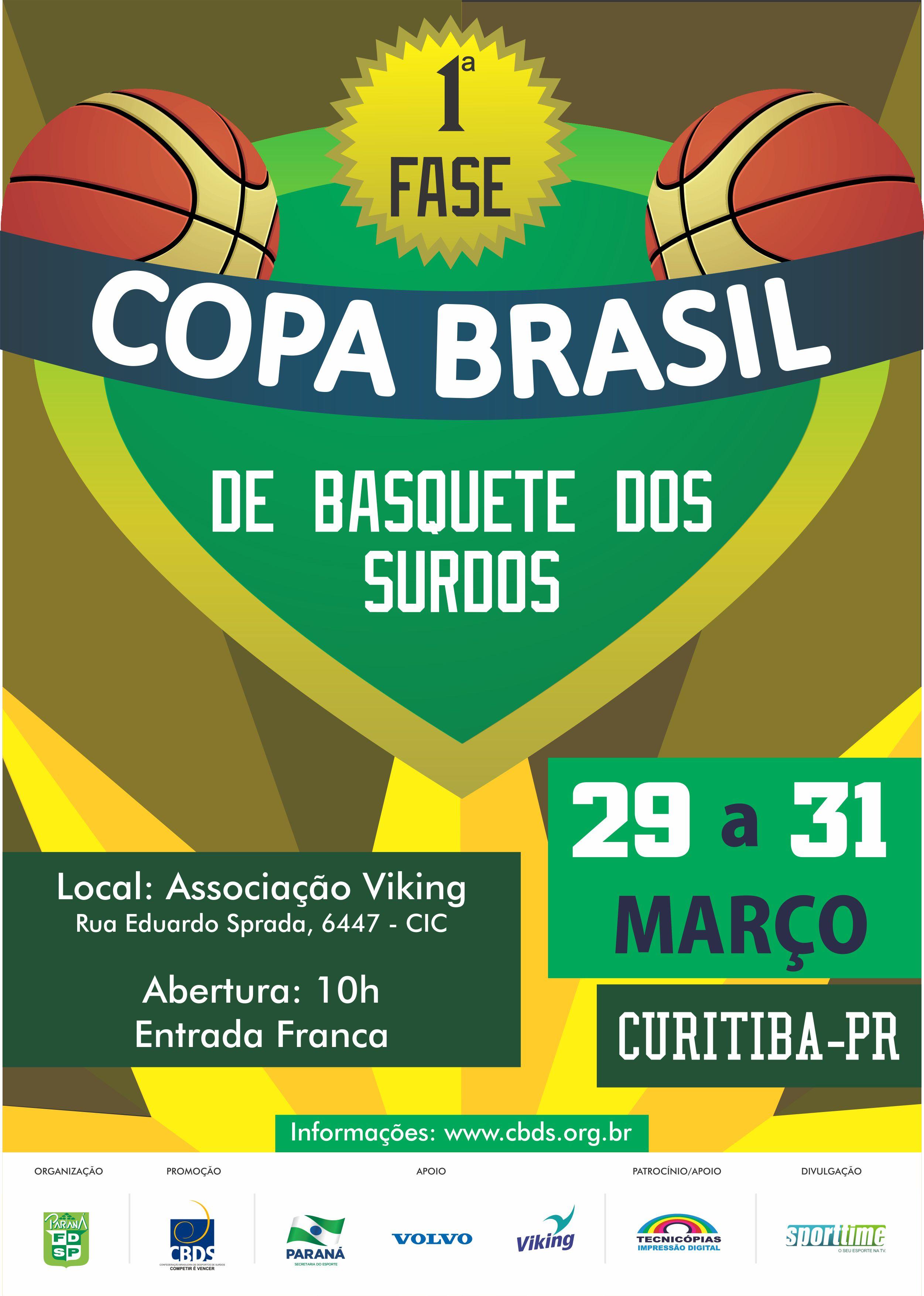 Cartaz Copa Basquete
