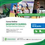 Cartaz - Curso online Desporto Surdo 2021.01