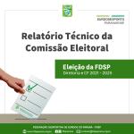 Cartaz Relatório Tecnico Eleição 2021-2025