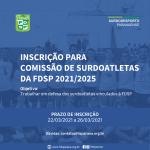 Inscrição CS-FDSP 2021-2025